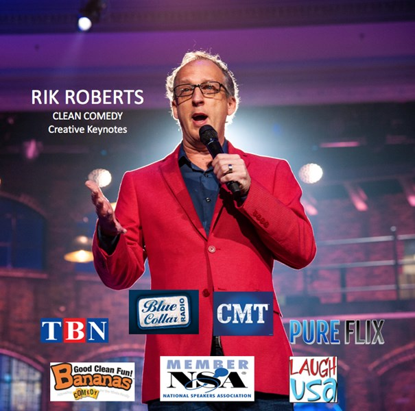 Rik Roberts :: Clean Comedy & Creative Keynotes! - Clean Comedian - Tampa, FL