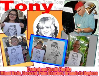 Caricatures By Tony 'dee' Digregorio | Fort Lauderdale, FL | Caricaturist | Photo #15