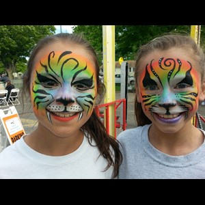New York Face Painter | Rainbow Rosie The Facepainting Clown