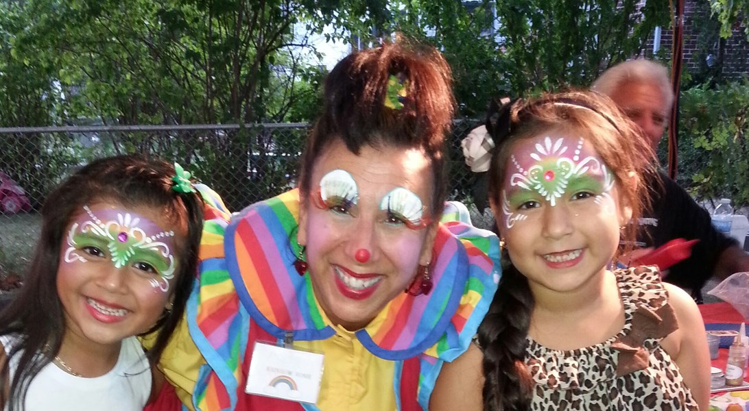 Rainbow Rosie The Facepainting Clown