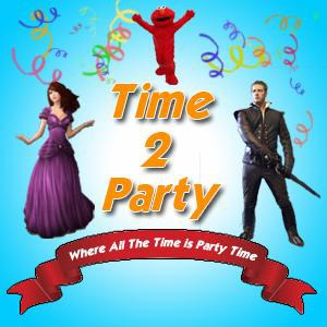 Time 2 Party - Costumed Character - La Palma, CA