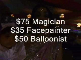 Vancover 3-For-1 Facepainting Balloons Magic | Vancouver, BC | Magician | Photo #1