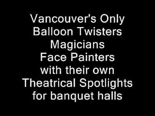 Vancover 3-For-1 Facepainting Balloons Magic | Vancouver, BC | Magician | Photo #12