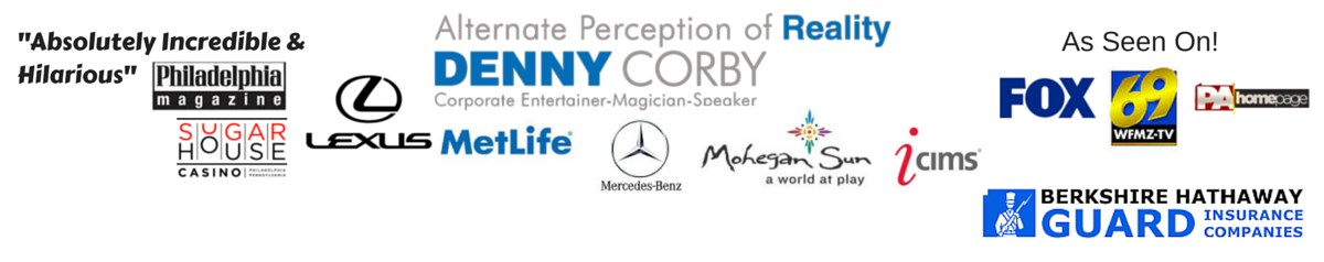 Voted Best Magician in Northeast Pa - Denny Corby