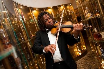 Tamboura - Cocktail Violinist Extraodinaire