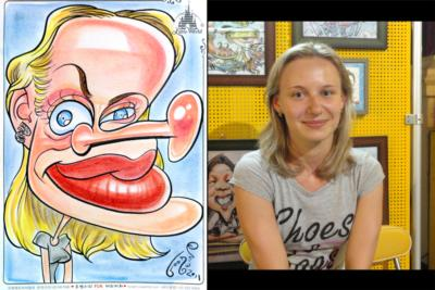 Caricatures By Eric Goodwin | San Diego, CA | Caricaturist | Photo #2