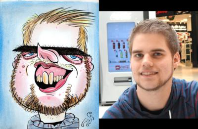 Caricatures By Eric Goodwin | San Diego, CA | Caricaturist | Photo #23