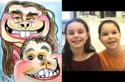 Caricatures By Eric Goodwin | San Diego, CA | Caricaturist | Photo #20