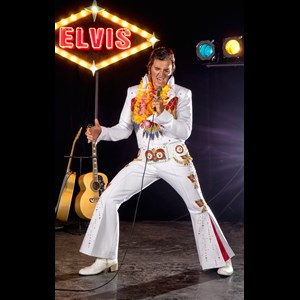 Marlin Elvis Impersonator | Ronnie Scott - Iconic Tributes