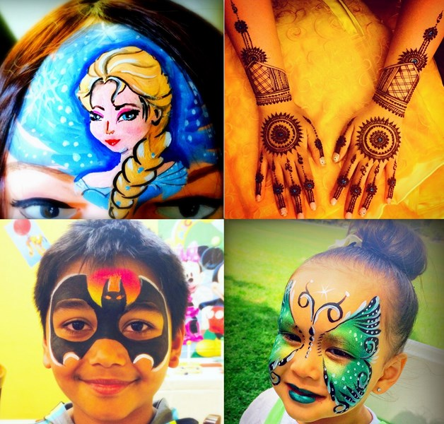 Yogis Henna and Face Painting - Face Painter - Fremont, CA
