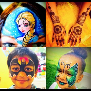 Modesto Princess Party | Yogis Henna and Face Painting
