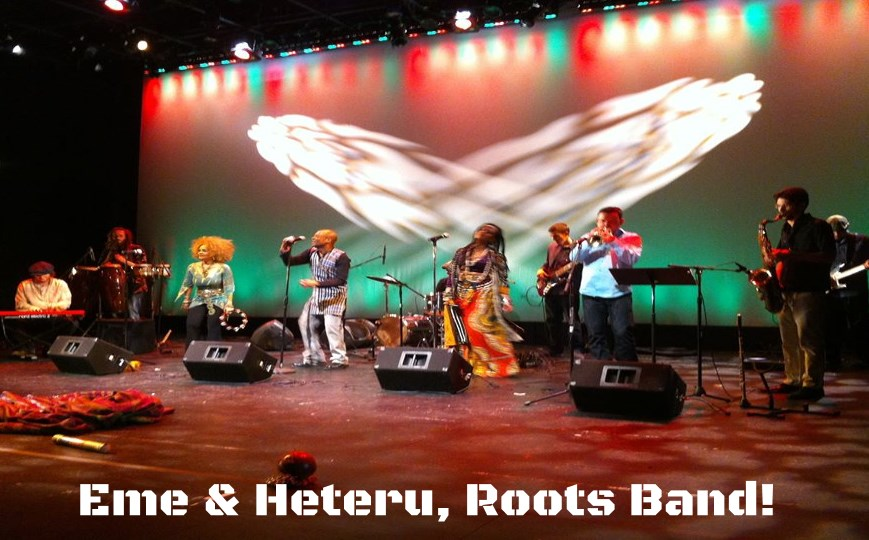 Eme & Heteru! - World Music Band - Silver Spring, MD