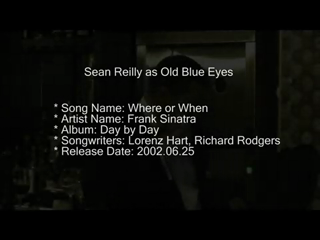 Sean Reilly Vocalist In The Sinatra Style | Wilmington, DE | Frank Sinatra Tribute Act | Where Or When
