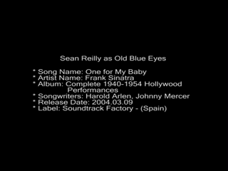 Sean Reilly Vocalist In The Sinatra Style | Wilmington, DE | Frank Sinatra Tribute Act | One For My Baby