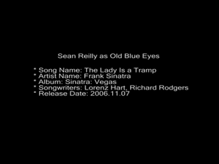 Sean Reilly Vocalist In The Sinatra Style | Wilmington, DE | Frank Sinatra Tribute Act | Lady Is A Tramp