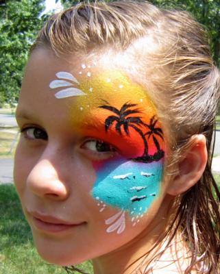 Happy Faces | Fairfax Station, VA | Face Painting | Photo #20
