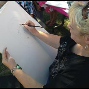 Sunspot Caricaturist | Leeza Cannon