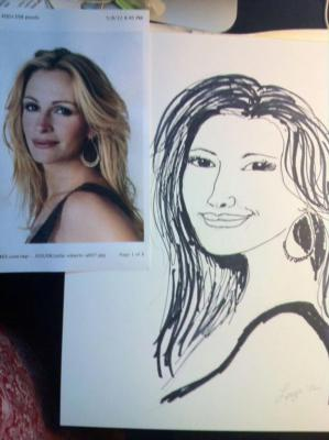 Leeza Cannon | Fort Worth, TX | Caricaturist | Photo #1