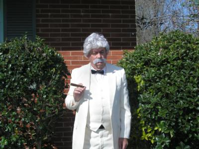 Mark Twain Live(back From The Dead) | Charlotte, NC | Humorist | Photo #1