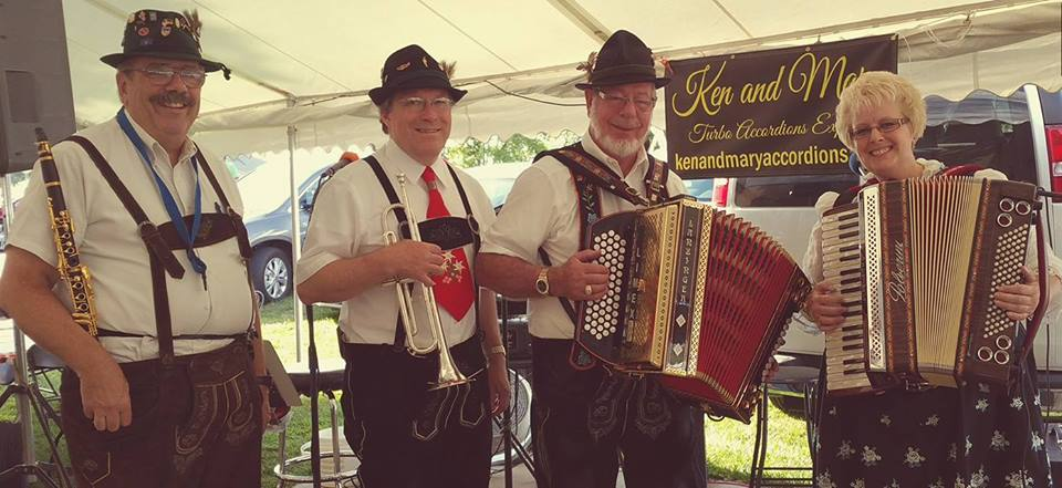 Ken & Mary Turbo Accordions Express - Variety Band - Marysville, OH