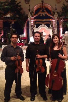 String Trio at Vizcaya Museum