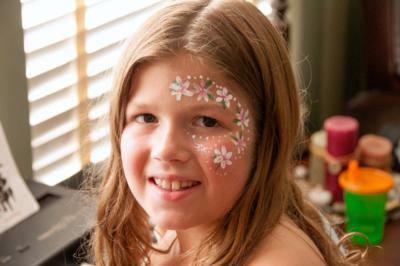 Smiley Face Art | Spring City, TN | Face Painting | Photo #8