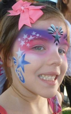 Airbrush Skin Art - FDA Approved/No PPDs | Spring, TX | Face Painting | Photo #1