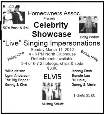 Celebrity Showcase | Spring Hill, FL | Impersonator | Photo #11