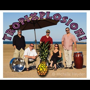 Gary Soca Band | Tropixplosion! - The Steel Drum Party Band