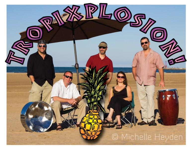 Tropixplosion! - The Steel Drum Party Band - Steel Drum Band - Chicago, IL