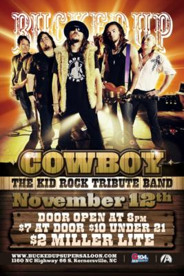 Cowboy The Kid Rock Tribute Band | Roanoke, VA | Rock Band | Photo #8