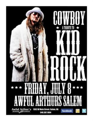Cowboy The Kid Rock Tribute Band | Roanoke, VA | Rock Band | Photo #7