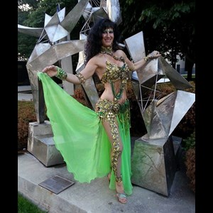 Cascade Belly Dancer | Be Allured Belly Dancing By Dimitra