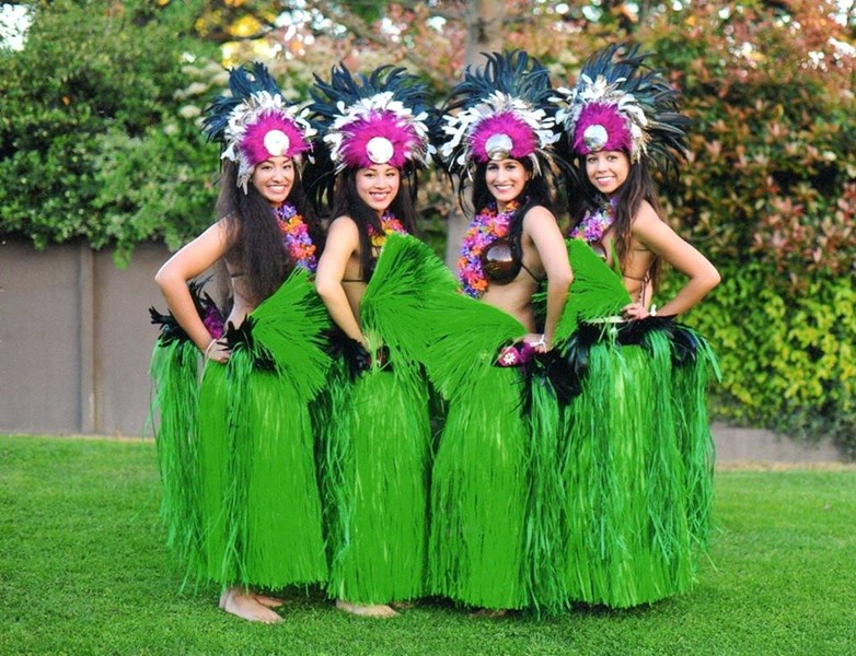 Aloha Polynesia! Hawaiian Band & Dancers.
