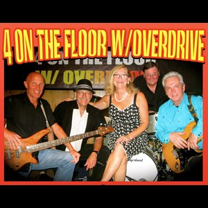 Rhodesdale 60s Band | 4 ON THE FLOOR WITH OVERDRIVE show