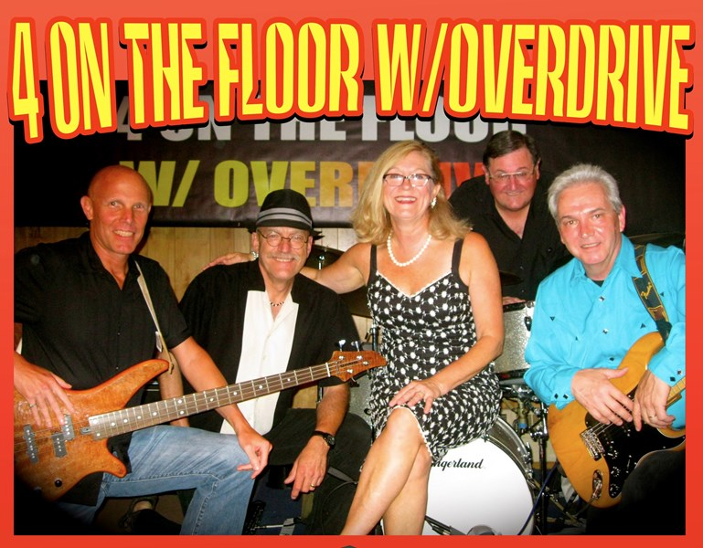 4 ON THE FLOOR WITH OVERDRIVE show