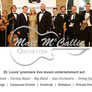 Texas Cover Band | The Matt McCallie Orchestra, L.L.C.