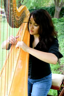 Harpist Hillary | Fort Worth, TX | Harp | Photo #3