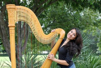 Harpist Hillary | Fort Worth, TX | Harp | Photo #8