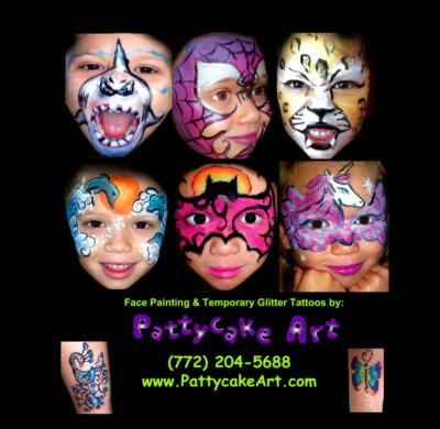 Face Painting By Pattycake Art | Jupiter, FL | Face Painting | Photo #21