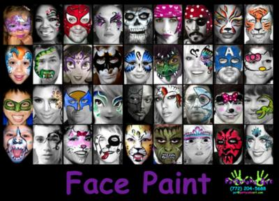 Face Painting By Pattycake Art | Jupiter, FL | Face Painting | Photo #9