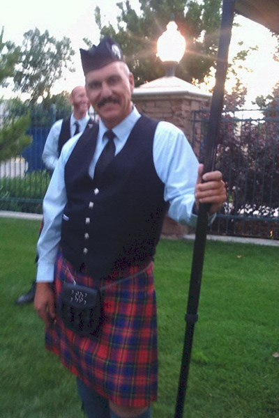 Chris Carson - Bagpiper - Canyon Country, CA