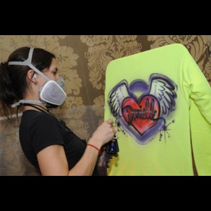Bridgeport Airbrush T-Shirt Artist | ILoveAirbrush