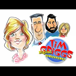 Fort Worth, TX Caricaturist | Tim Griggs Caricatures