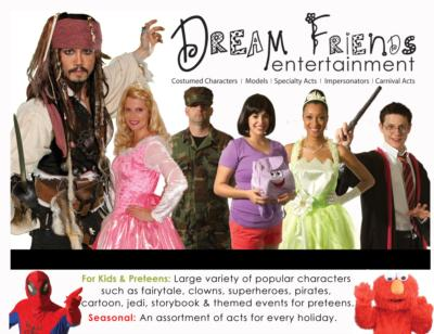 Dream Friends Entertainment - Carnival Acts | Atlanta, GA | Circus Act | Photo #25