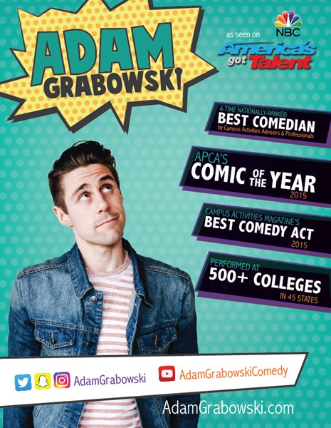 2017 Comic of the Year - ADAM GRABOWSKI - Stand Up Comedian - Los Angeles, CA