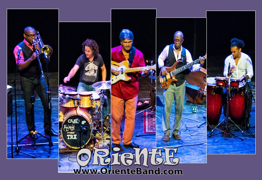 Oriente Latin Jazz-Blues-Rhythm-N-Soul - World Music Band - Hollywood, FL