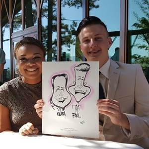 Boise Caricaturist | Michael Hopkins Caricatures