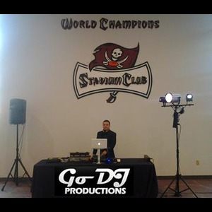 St Petersburg Latin DJ | Go Dj Productions / Dj-Video-Uplighting