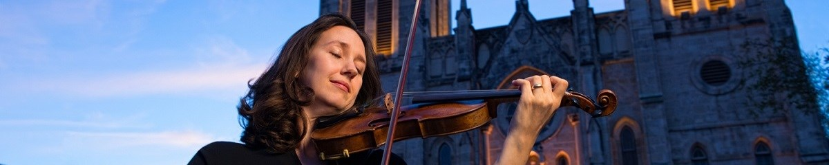 Violinist Erin Rushforth